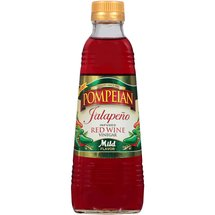 Pompeian Jalapeno Infused Mild Red Wine Vinegar