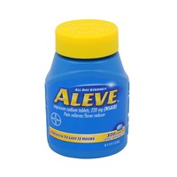 Aleve Naproxen Sodium 220 mg Caplets Pain Reliever/Fever Reducer