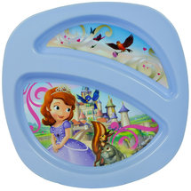 The First Years Disney Junior Sofia the First Sectioned Plate