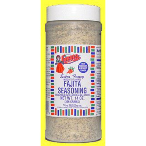 Fiesta Brand Extra Fancy Fajita Seasoning