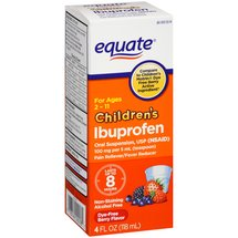 Equate Children's Berry Flavor Ibuprofen