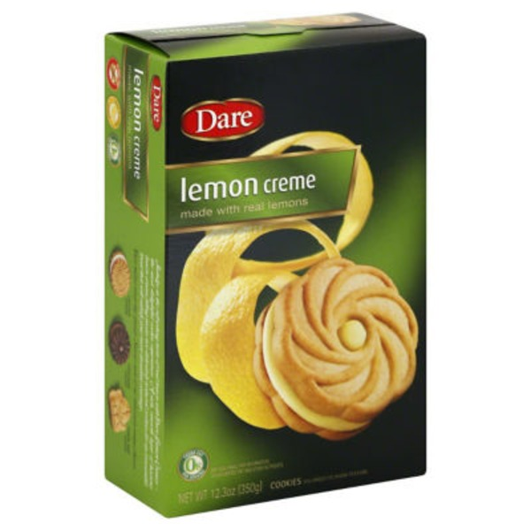 Dare Cookies Lemon Creme