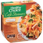 Healthy Choice Cafe Steamers Top Chef Chicken Linguini with Red Pepper Alfredo