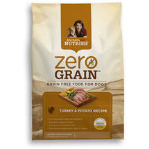 Rachael Ray Nutrish Zero Grain Natural Dry Dog Food Turkey & Potato Recipe