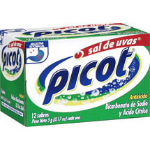 Picot Sodium Bicarbonate & Citric Acid Antacid
