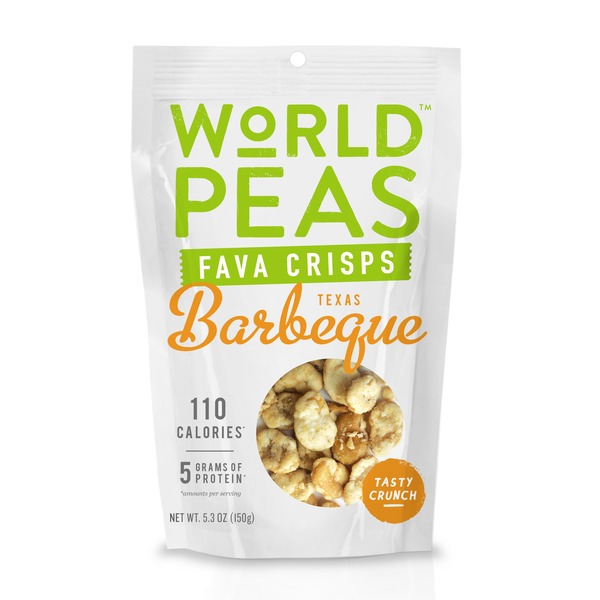 World Peas Texas Barbeque Fava Crisps