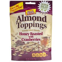 Good Sense Almond Toppings Honey Roasted with Cranberries