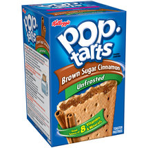 Kellogg's Pop-Tarts Brown Sugar Cinnamon Toaster Pastries