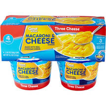 Great Value Three Cheese Macaroni & Cheese Dinner