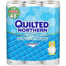 Quilted Northern Ultra Soft & Strong Toilet Paper Double Rolls