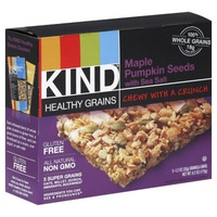 Kind Maple Pumpkin Seeds with Sea Salt Granola Bars