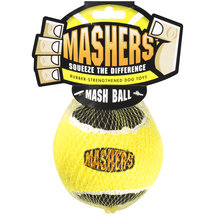 R2P Pet Ltd. Mashers Rubber-Strengthened Mash Ball Dog Toy