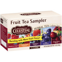 Celestial Seasonings 5 Flavors Fruit Tea Sampler Herbal Tea