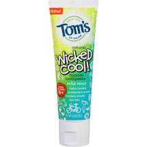 Tom's of Maine Wicked Cool! Mild Mint Fluoride Toothpaste
