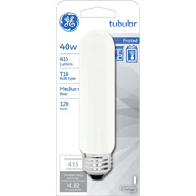 GE soft white 40 watt T10 1-pack