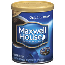 Maxwell House Original Medium Roast Ground Coffee