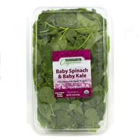 Central Market Organics Baby Spinach & Baby Kale