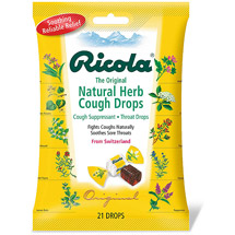 Ricola The Original Natural Herb Cough Suppressant Throat Drops