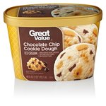 Great Value Chocolate Chip Cookie Dough Ice Cream