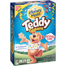Nabisco Honey Maid Birthday Cake Teddy Grahams