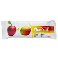 Thats It 1 Apple + 1 Mango Fruit Bar