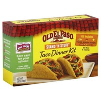 Old El Paso Stand 'n Stuff Taco Dinner Kit