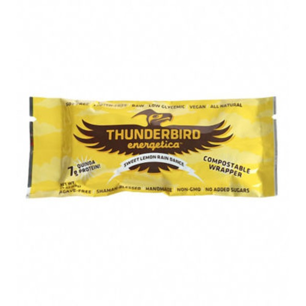 Thunderbird Energetica Sweet Lemon Rain Dance Bar