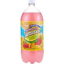 Great Value Sparkling Strawberry Lemonade Soda