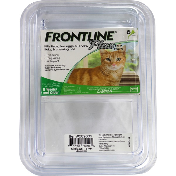 Frontline Plus Flea Medicine For Cats