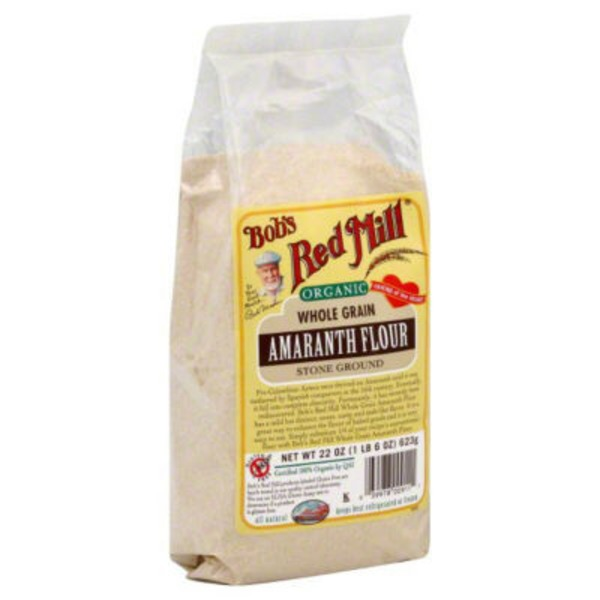Bob's Red Mill Organic Whole Grain Amaranth Flour Stone Ground