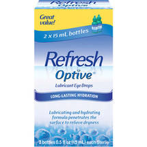 Optive Moisturizing Lubricant Eye Drops