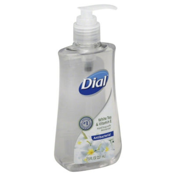 Dial Liquid Hand Soap White Tea & Vitamin E Antibacterial Hand Soap