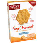 Van's Gluten Free Say Cheese! Crispy Whole Grain Baked Crackers
