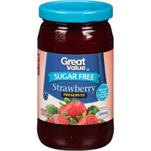 Great Value Sugar Free Strawberry Preserves