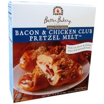 Better Bakery Bacon & Chicken Club Pretzel Melt