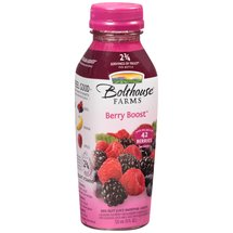 Bolthouse Farms Berry Boost 100% Fruit Juice Smoothie + Boosts