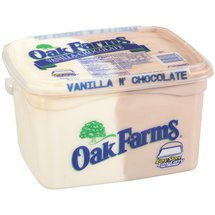 Oak Farms Vanilla-Chocolate Ice Cream