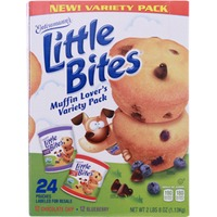 Entenmann's Little Bites Variety Pack Muffins Blueberry/Chocolate Chip