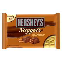 Hershey;s Nuggets Extra Creamy Milk Chocolate with Toffee ; Almonds