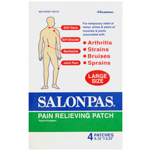 Salonpas Pain Relieving Patch Large