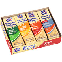Lance Captain's Wafers Crackers Variety Pack