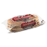 H-E-B Bake Shop Whole Wheat Thin Rounds