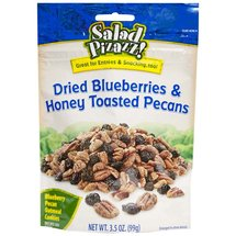 Salad Pizazz! Dried Blueberries & Honey Toasted Pecans