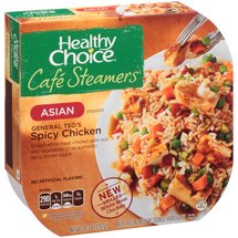 Healthy Choice Cafe Steamers Asian Inspired General Tso's Spicy Chicken