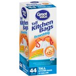 Great Value Drawstring Tall Kitchen Garbage Bags