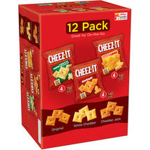 Cheez-It Original/White Cheddar/Cheddar Jack Baked Snack Crackers