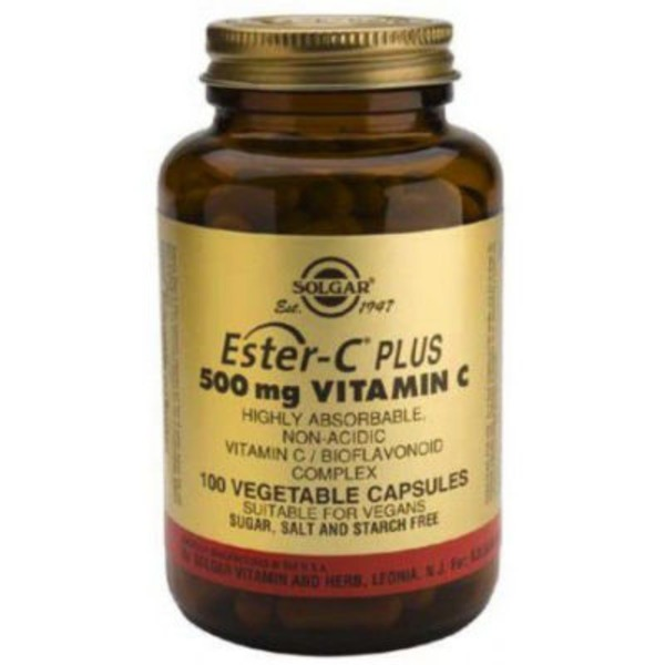 Solgar Ester-C Plus 500 Mg Vegicaps