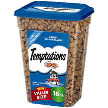 Whiskas Temptations Salmon 16oz Value Pack