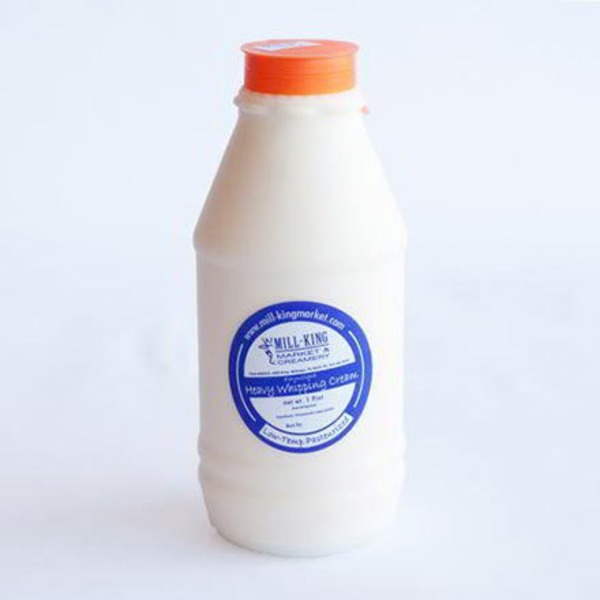 Mill-King Market & Creamery Old Fashioned Heavy Whipping Cream