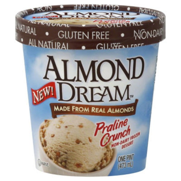 Almond Dream Praline Crunch Frozen Dessert
